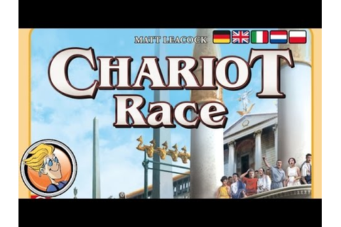 Chariot Race — game overview at SPIEL 2016 by designer ...