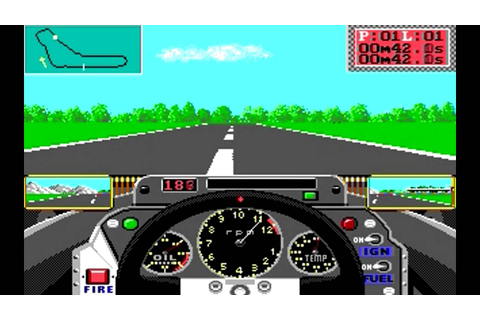 Grand Prix Circuit 1988 - Accolade - Old arcade game of ...