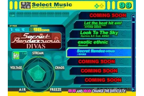 DDRMAX Demo Disc Gameplay - Dance Dance Revolution 6th Mix ...