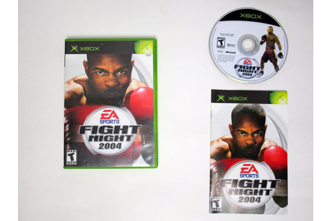 Fight Night 2004 game for Xbox (Complete) | The Game Guy