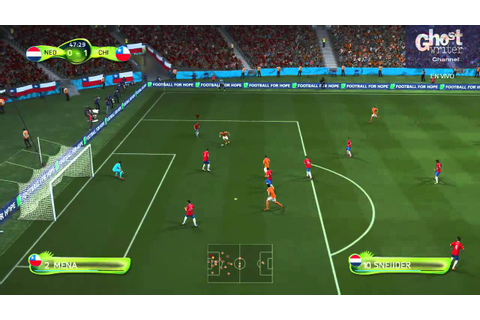 FIFA 14 World Cup - Holanda vs Chile - Simulation Game ...