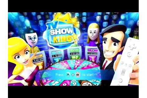 TV Show King Party Wii Gameplay - YouTube