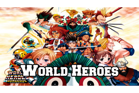 World Heroes - Historia dos Games e Personagens. - YouTube