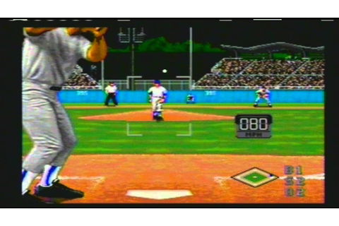 Sega Genesis World Series Baseball Playoff Game Montreal ...