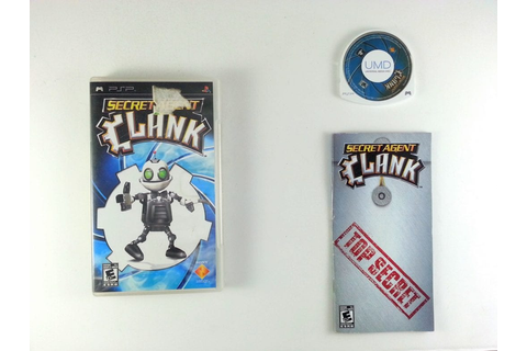 Secret Agent Clank game for PSP (Complete) | The Game Guy