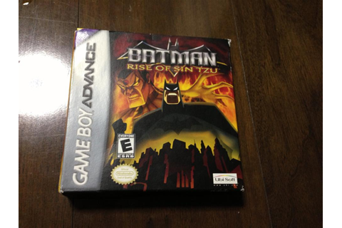 BATMAN: RISE OF SIN TZU (US) by UBISoft (Action Used ...