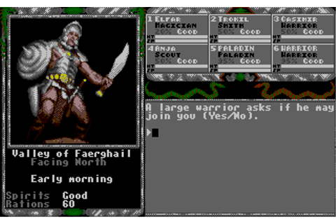 Download Legend of Faerghail - My Abandonware