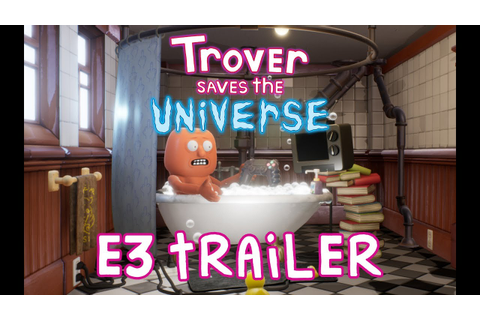 """Trover Saves the Universe"" E3 Announce Trailer - YouTube"