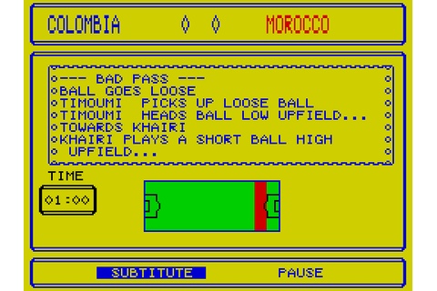 Tracksuit Manager (1988) by Goliath Games / Hi-Tec ...