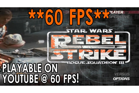 [60 FPS] Dolphin Emulator 4.0-6286 | Star Wars Rogue ...