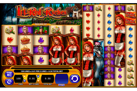Play Lil Red Riches FREE Slot | WMS Casino Slots Online