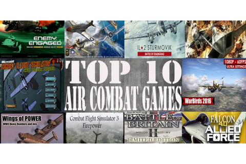 Top 10 Air Combat Games ( Fighter jets games) | Fighter ...