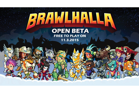 Brawlhalla Open Beta Trailer - YouTube
