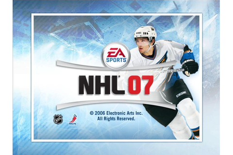 NHL 07 Download (2006 Sports Game)