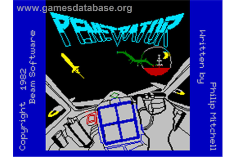 Penetrator - Sinclair ZX Spectrum - Games Database