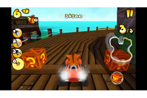 crash bandicoot, nitrokart, 2, iOS, android, game, racing ...