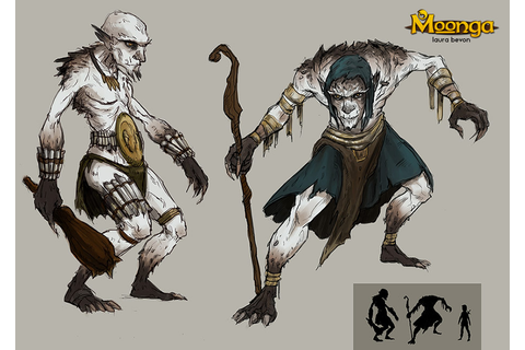 [Moonga] Troll Concept by LauraBevon on DeviantArt