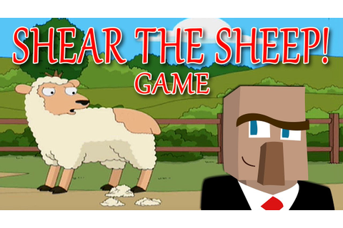 PLAY SHEAR THE SHEEP! An Original Minecraft Game - YouTube