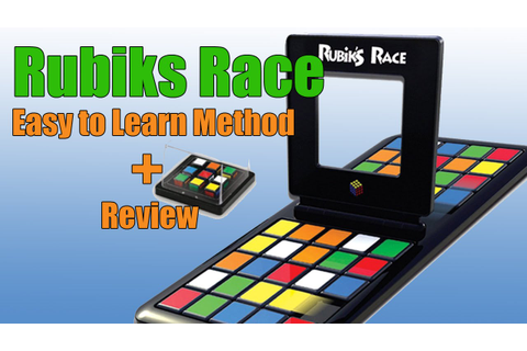 How to Play Rubiks Race Game - Easy Method - YouTube