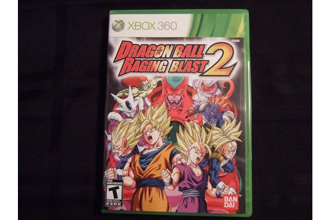 Replacement Case (NO GAME) DRAGON BALL RAGING BLAST 2 XBOX ...