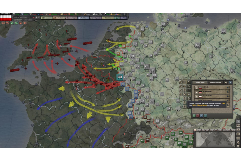 Hearts of Iron III: Their Finest Hour - screenshots ...