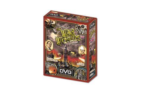 The War of the Worlds - Board Game by Dan Verssen Games ...