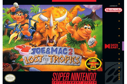 Joe & Mac 2: Lost in the Tropics (SNES / Super Nintendo ...