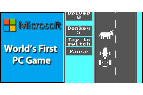 Play The World's First PC Game 'Donkey.bas' Programmed By ...