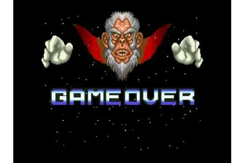 StarFox (SNES) Game Over - YouTube