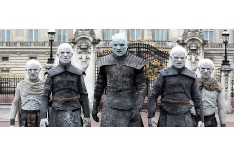 'Game of Thrones': White walkers take over London in ...