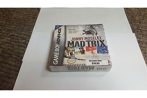 Jonny Moseley Mad Trix (Nintendo Game Boy Advance, 2002 ...