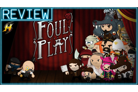 Foul Play Game Review - PS4 Gameplay Review - YouTube