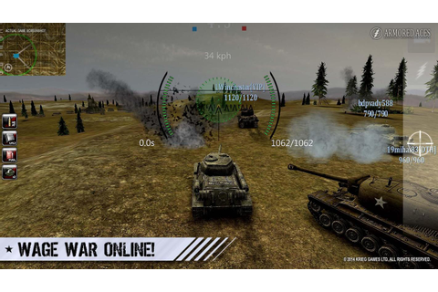 Armored Aces - 3D Tank War Online APK Download - Free ...