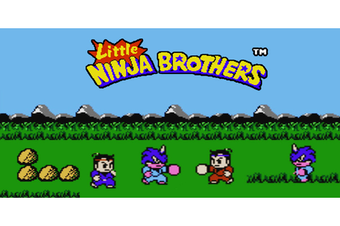 Little Ninja Brothers | NES | Games | Nintendo