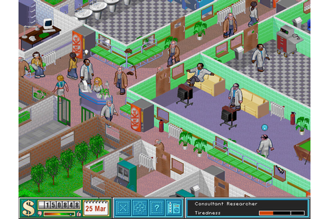 Theme Hospital - Manage a hospital is never much fun ...