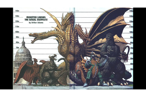 Top 40 Godzilla, Gamera and Ultraman monsters - YouTube