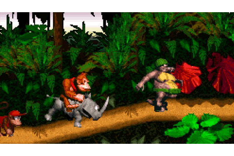 Gaming Daily: DONKEY KONG COUNTRY & More SNES Classics Hit ...