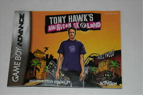 Tony Hawk American Sk8land Nintendo Game Boy Advance Video ...
