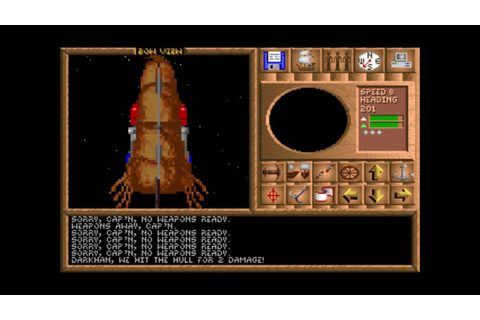 Spelljammer: Pirates of the Realmspace (MS-DOS) Intro und ...