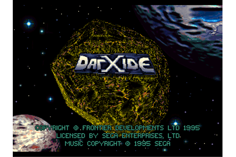 Darxide - Download - ROMs - Sega 32X (32X)