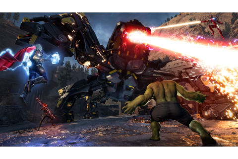 Square Enix gives in-depth look at Marvel's Avengers ...