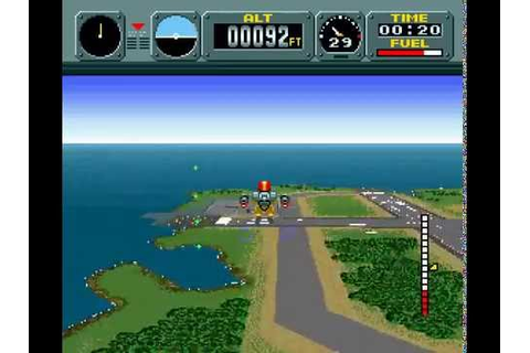 Pilotwings | SNES | Playthrough - YouTube