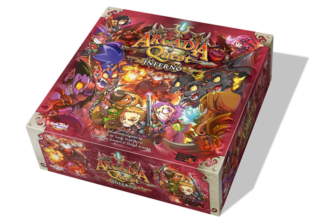 Arcadia Quest: Inferno | Image | BoardGameGeek