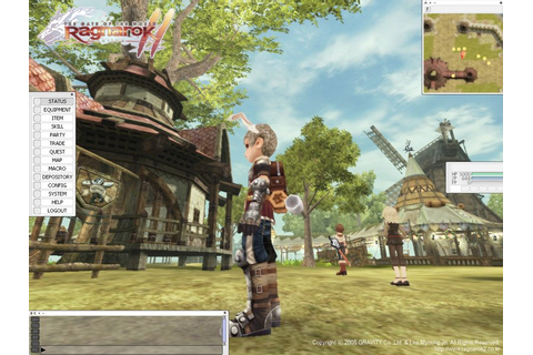 Скриншоты из игры Ragnarok Online 2: The Gate of the World