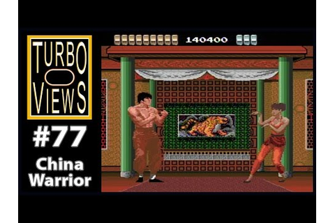 """China Warrior"" - Turbo Views #77 (TurboGrafx-16 / Duo ..."