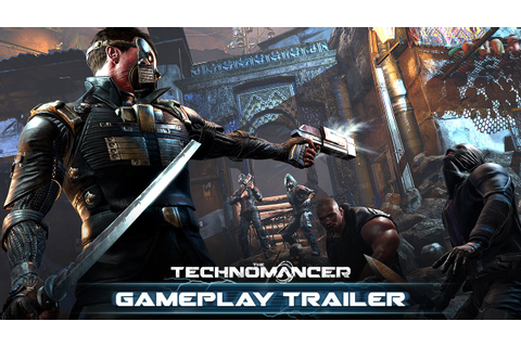 The Technomancer - Gameplay Trailer - YouTube