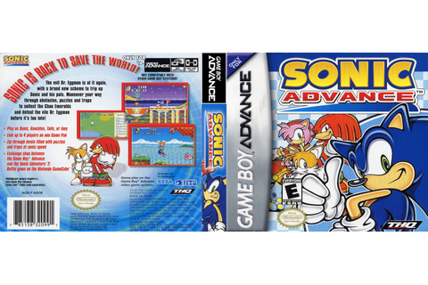 Video Game Review: The Sonic Advance Series (2002-2004)