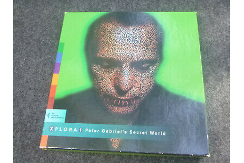 PETER GABRIEL'S SECRET WORLD for PC CD-ROM - XPLORA 1 REAL ...
