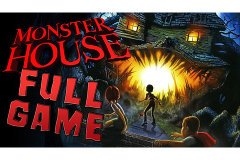 Monster House FULL GAME Movie Longplay (PS2, Gamecube ...