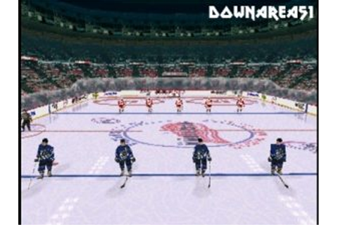 NHL Faceoff 99 PS1 ISO - Download Game PS1 PSP Roms Isos ...